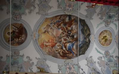 Kirchenschatz: Fresko in Mieders