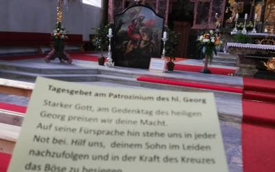 Patrozinium des hl. Georg in Neustift