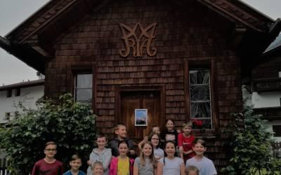 Kindermaiandacht in der Kampler Kapelle