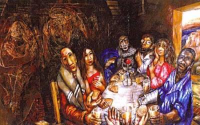 Ostern im Himmel - auch für Judas