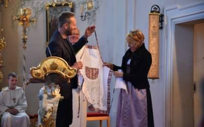 Erntedank und Pfarrfest in Schönberg