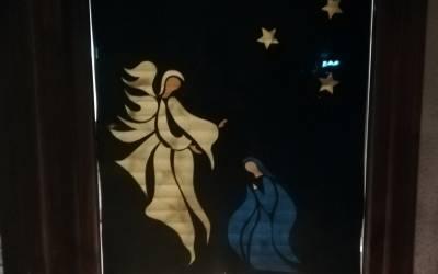 Adventfenster bei Romana und Helmut Schmid