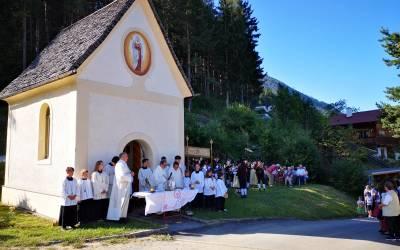 Herz- Jesu-Fest in Plöven 2019 mit Verabschiedung von Pfarrer Scheiring