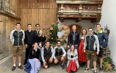 Erntedank- und Rosenkranzfest in Telfes