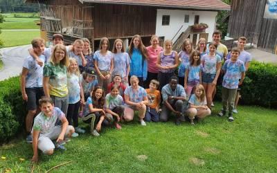 Die Fulpmer Minis auf Sommerlager