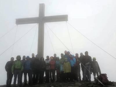 Bergandacht auf der Serles