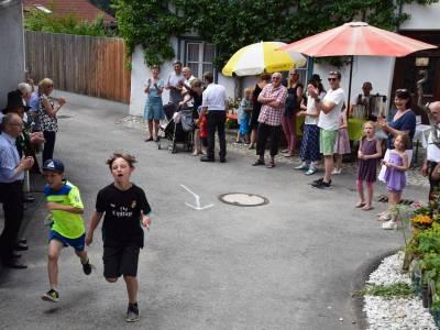 Kirchenlauf 2018 beim 1. Miederer Widumgassenfest