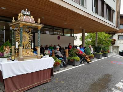 Erntedank in Neustift