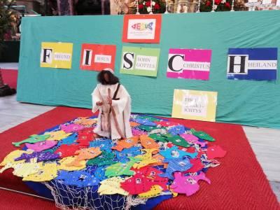 Sendungsfeier der heurigen Erstkommunionkinder in Neustift