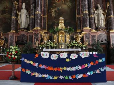 Familiengottesdienst in Neustift