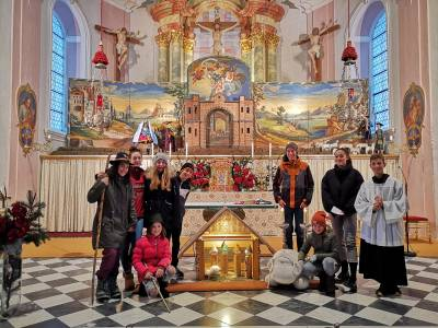 Kinderelement am 4. Adventsonntag in Telfes