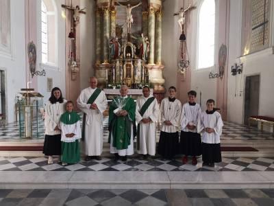 Priesterjubiläum von P. Josef Zauner in Telfes