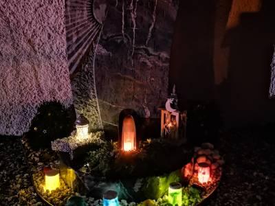 Trauerräume rund um Allerheiligen und Allerseelen in Telfes