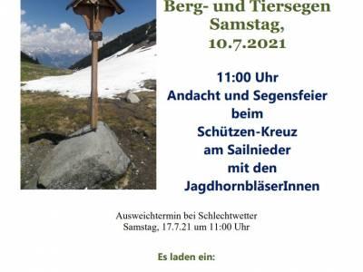Bergsegen 2021 in Telfes