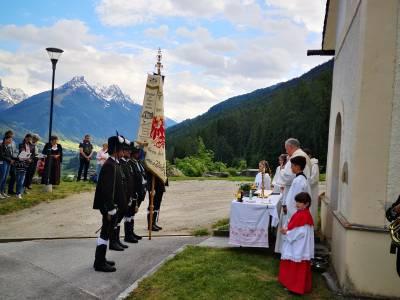 Ein Fest der Herzlichkeit - Herz-Jesu-Fest in Telfes