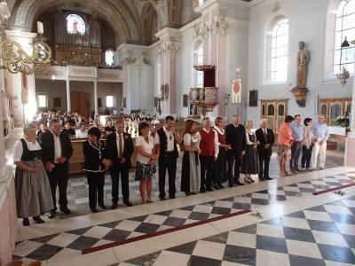Fest der Ehejubiläen in Telfes 2018