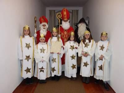 Der Nikolaus in Telfes